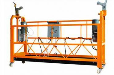 zlp1000 به طور موقت گهواره پلت فرم معلق برای ساخت دکوراسیون نصب شده است