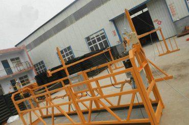 معلق کردن کار پلت فرم آلومینیومی داربست با قیمت پایین