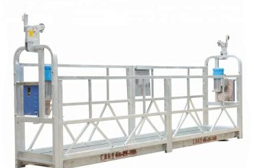 10m 800kg سیستم های داربست معلق آلومینیوم آلیاژ با ارتفاع بالابر 300 متر