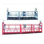 تجهیزات دسترسی Ssupended ZLP500 / گودال / گهواره / داربست برای ساخت و ساز