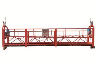 پلت فرم به طور موقت به حالت تعلیق فولاد / گالوانیزه گرم، گهواره نگهداری zlp500
