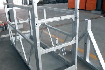 پلت فرم نصب و راه اندازی آسانسور بالابر طناب بالا zlp630 zlp800 zlp1000