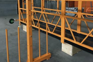 پلت فرم سیم طناب مجهز به تک فاز 800 کیلوگرم 1.8 کیلو وات، سرعت بالابر 8 -10 m / min
