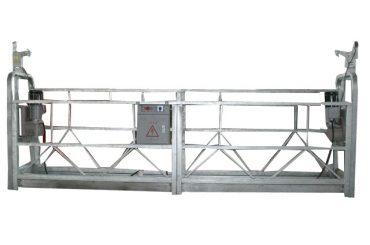 zlp630 پلت فرم کار معلق داغ گالوانیزه برای ساخت و ساز ساختمان های بلند