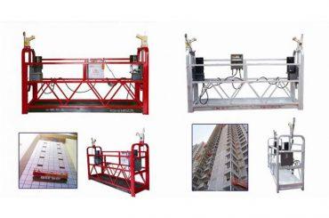 پلت فرم دسترسی مجهز به طناب، zlp630 آسانسور ساخت و ساز ماشین گوندولا