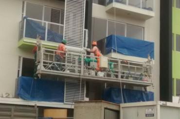 تعمیر و نگهداری ساخت و ساز طناب پلت فرم معلق با hoist ltd8.0 zlp800