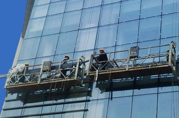 100m - 300m پلت فرم دسترسی معلق 220v برای نقاشی ساختمان بلند