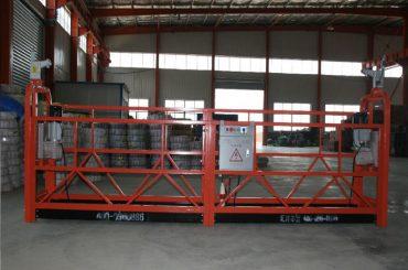 zlp1000 8 - 10 m / min پیمان انفجاری ایمن معلق برای ساخت و ساز و تعمیر و نگهداری ساختمان