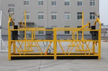 موقت تجهیزات دسترسی معلق / gondola / gradle / scaffolding zlp500 نصب شده است