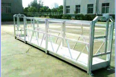سیستم های کار معلق با استفاده از فولاد / آلومینیوم با قفل ایمنی سری sal