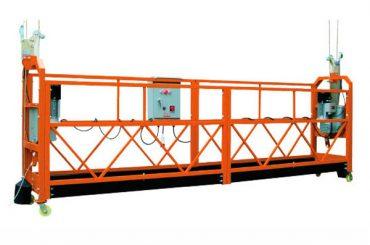 2.5 متر مکعب x 3 بخش 1000 کیلوگرم بستر پلت فرم دسترسی بالابری سرعت 8-10 متر در دقیقه