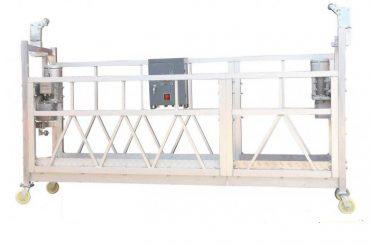 فولاد رنگ / گرم گالوانیزه / آلومینیوم zlp630 پلت فرم کار معلق برای ساخت نقاشی نما