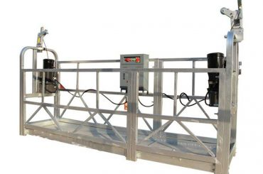 ce / ISO تصویب ZLP ساخت و ساز الکتریکی / ساختمان / دیوار خارجی پلت فرم / گهواره / گوندولا / نوسان مرحله / آسمان climbe