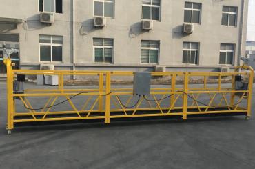 گواهینامه zlp630 گواهی آلومینیوم گوندولا حلق آویز برای ساخت و ساز