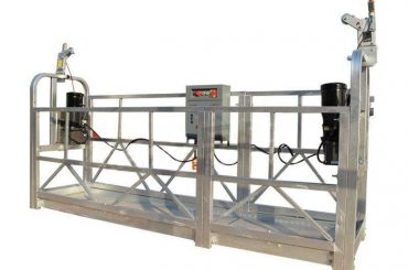 آلیاژ آلومینیوم پلت فرم کار معلق / gondola / scaffolding zlp 630
